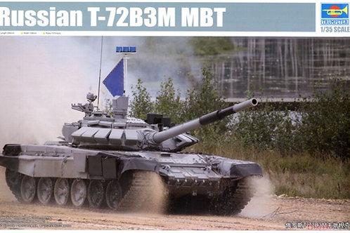 Российский танк Т-72 Б3М (Танковый биатлон) - Trumpeter 09510 1/35