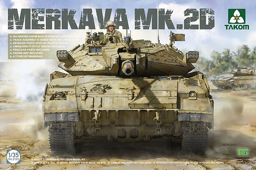 Merkava 2D Israel Defence Forces Main Battle Tank - Takom 1:35 2133