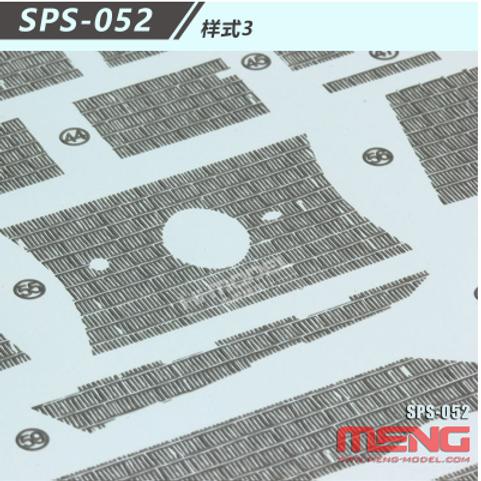 Циммерит №3 в виде декалей Zimmerit Decal Type 3 - Meng Model SPS-052 1/35
