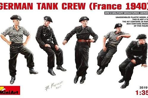 Немецкий танковый экипаж, Франция 1940 - MiniArt 35191 1/35