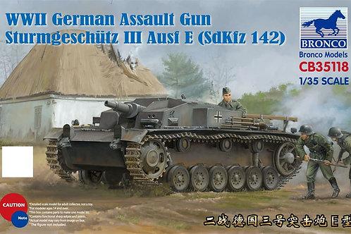 Самоходка Stug III Ausf. E - Bronco CB35118 1:35