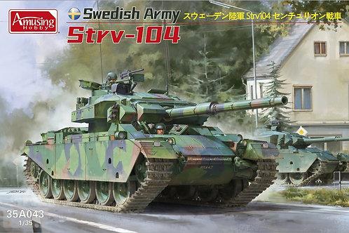 (в пути) Шведский танк Strv 104 Centurion - Amusing Hobby 1:35 35A043
