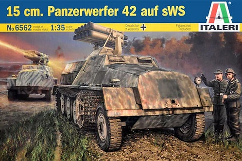 15 cm Panzerwerfer 42 auf sWS - Italeri 1:35 6562