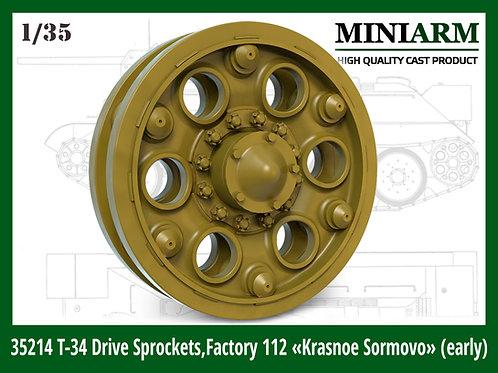 35214 MINIARM 1:35 Ведущие колеса Т-34 №112 Красное Сормово (ранние)
