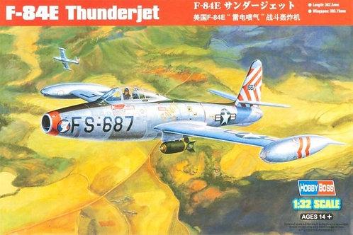 "(под заказ) Самолет ""Тандерджет"" F-84E Thunderjet - Hobby Boss 1:32 83207"