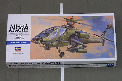 AH-64A Apache, U.S. Army Attack Helicopter, вертолет Апач - 00436 Hasegawa 1:72
