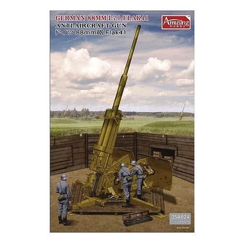 Немецкая зенитка 8,8cm L/71 Flak41 - Amusing Hobby 1:35 35A024 - под заказ