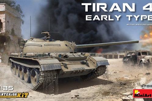 Израильский танк Тиран 4 ранний выпуск, с полным интерьером - MiniArt 37010 1/35