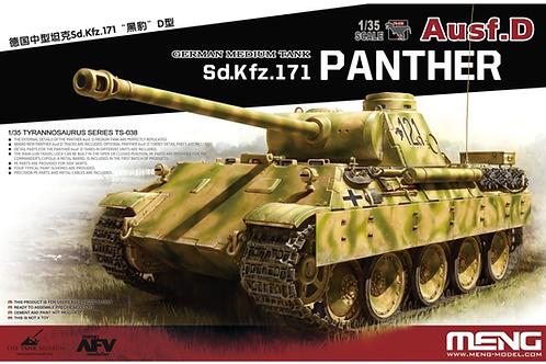 """(под заказ) Немецкий танк """"Пантера"""" Д, Panther Ausf. D - Meng Model TS-038 1:35"""