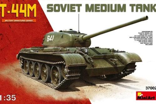 (под заказ) Советский танк Т-44М с полным интерьером - MiniArt 37002 1:35