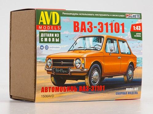 1506AVD Сборная модель ВАЗ-Э1101 - AVD 1/43
