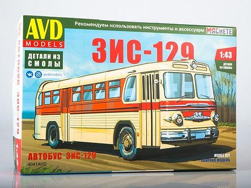 Сборная модель Междугородний автобус ЗИС-129 - AVD 4041AVD 1/43