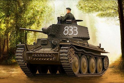 """Немецкий танк """"Прага"""", German Panzer Kpfw.38(t) Ausf.E/F - Hobby Boss 1:35 80136"""