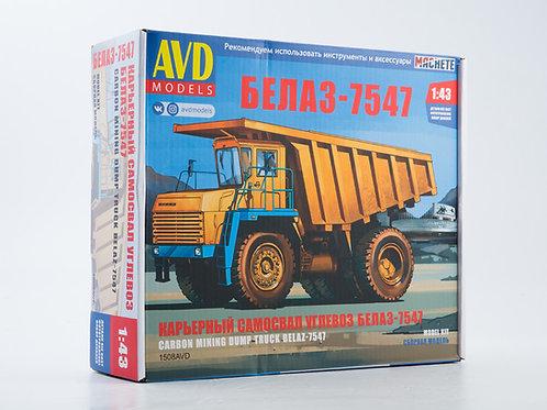 1508AVD Карьерный самосвал БЕЛАЗ-7547 - AVD 1/43