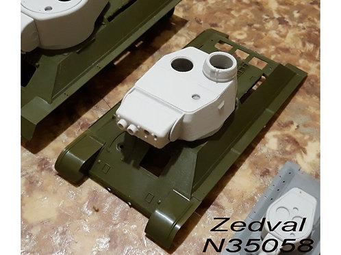 """Zedval N35058 1/35 Конверсия Т-34-3 (""""трехстволка"""", """"Змей Горыныч"""")"""