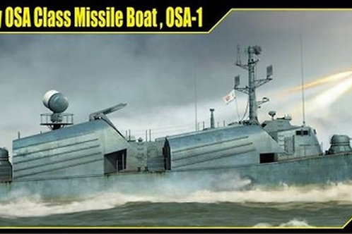 (п/заказ) Советский ракетный катер Оса-1 - Merit International 1:72 67201