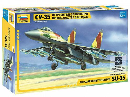 7240 Звезда 1/72 Российский самолет Су-35 (Flanker-Е+)