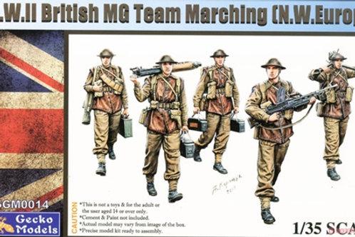 (под заказ) Британские пулеметчики на марше Западная Европа 2МВ - Gecko 35GM0014