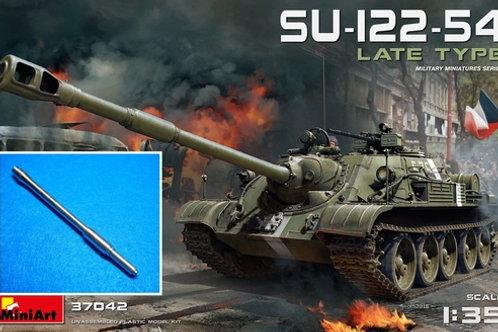 СУ-122-54 поздних выпусков - MiniArt 37042 1:35 + СТВОЛ Mg-3511