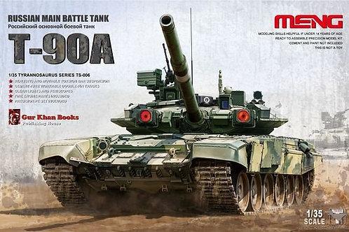 Российский танк Т-90А сборная модель - Meng Model TS-006 1:35
