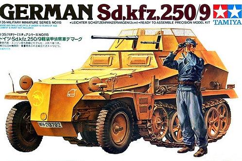 Немецкий БТР German Sd.kfz.250/9 - Tamiya 35115 1:35