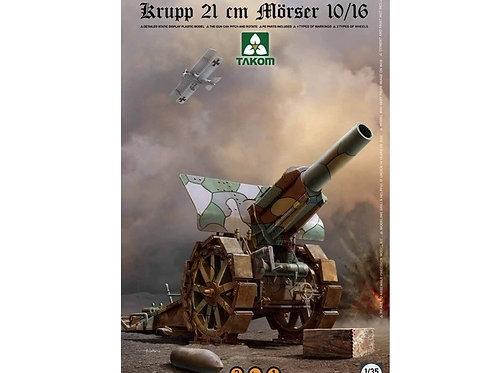 Гаубица Krupp 21cm Mörser 10/16 2 in 1 - Takom 1:35 2032