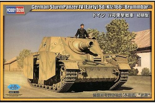 "Sturmpanzer IV ""Brummbar"" Early version - Hobby Boss 80134 1:35"