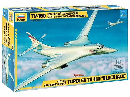 Российский самолет Ту-160 - Звезда 7002 1/144