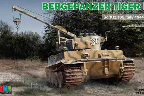 Bergepanzer Tiger I Sd.Kfz.185 Italy 1944 - RFM Rye Field Model 1:35 RM-5008