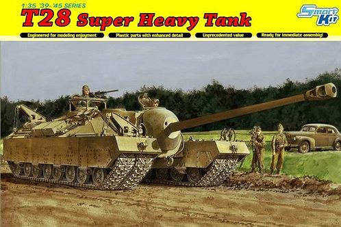 Американский супер-тяж T28 Super Heavy Tank - Dragon 1:35 6750