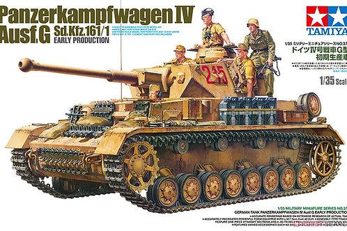 (в СПб) Немецкий танк Pz.IV Ausf.G ранний +фигурки - Tamiya 1:35 35378