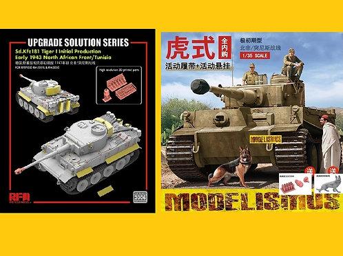 *КОМБО* Tiger I DAK North Africa 1943 - RFM 1:35 RM-5050 + БОНУСЫ и ДОПЫ Rm-2006