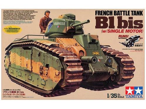 Французский танк В1 bis, с электрическим мотором - Tamiya 30058 1/35