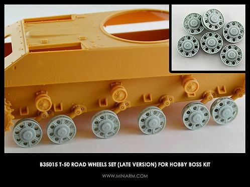 35015 MINIARM Усиленные опорные катки Т-50 поздних серий (Hobby Boss) - b35015 1