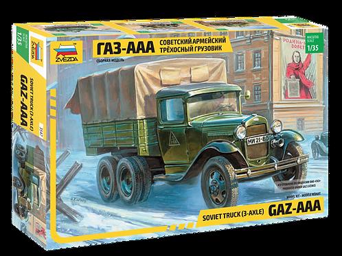 3547 Звезда 1:35 Советский армейский трехосный грузовик
