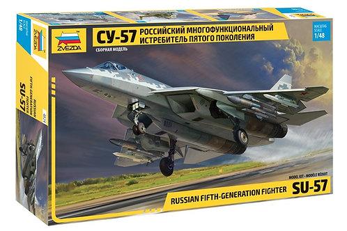 Российский истребитель Су-57 - Звезда 4824 1/48