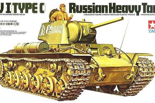 Советский танк КВ-1С с фигурой танкиста - Tamiya 35066 1/35