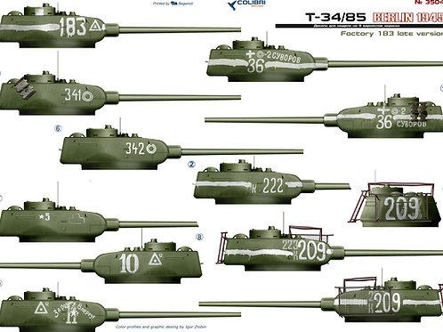 35047 Colibri Decals 1/35 Декали Т-34-85 завод 183 (Берлин 1945 года)