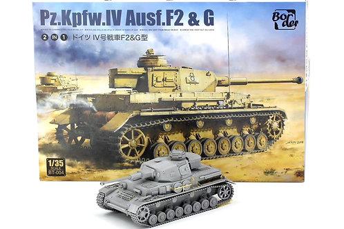 Pz.Kpfw.IV Ausf.F2 & G - Border Model 1:35 BT-004