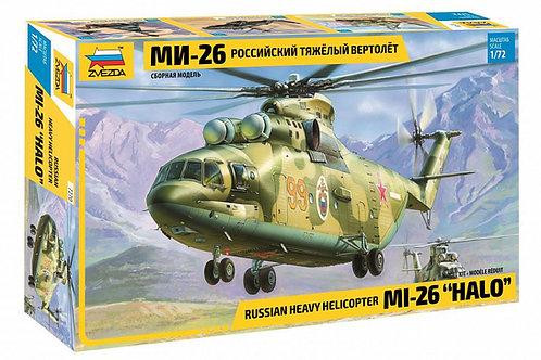 Российский тяжелый вертолет Ми-26 - Звезда 7270 1/72