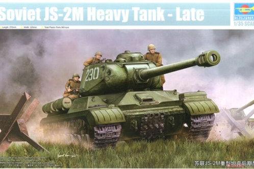 Советский тяжелый танк ИС-2М поздний выпуск - Trumpeter 1:35 05590