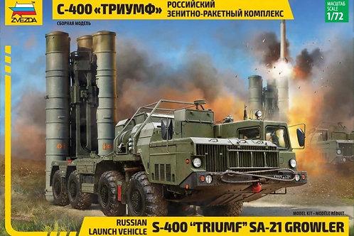 "5068 Звезда 1/72 Российский ЗРК С-400 ""Триумф"""
