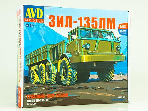 Колесный вездеход ЗИЛ-135ЛМ бортовой - AVD Models 1416AVD 1:43