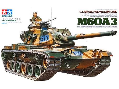 U.S. M60A3 105mm Gun Tank - Tamiya 1:35 35140 / Американский танк М60 105-мм