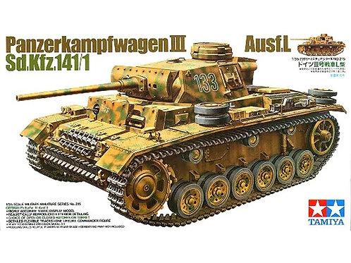 Немецкий танк Pz. III Ausf. L - Tamiya 35215 1/35