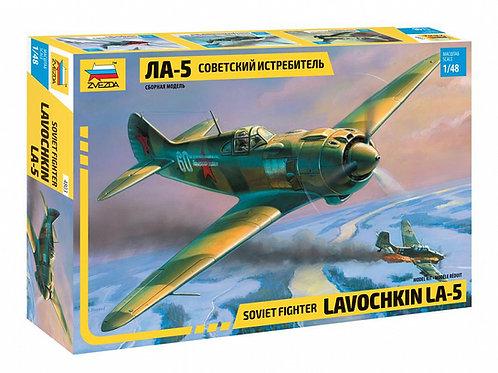 4803 Звезда 1/48 Советский истребитель Ла-5 Лавочкин