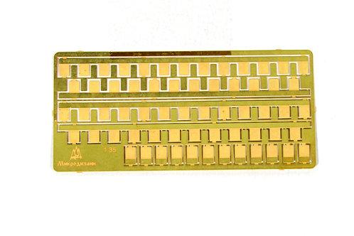 МД 035209 Микродизайн Петли рояльные универсальные 50 мм - 1:35