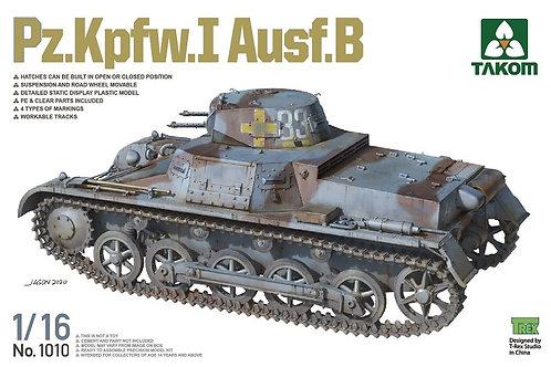 Немецкий танк Pz.Kpfw.I Ausf.B - Takom 1:16 1010