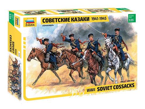 Советские казаки 1941-1945 годов - Звезда 3579 1/35