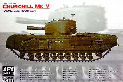 Танк Черчилль, Churchill Mk V 95mm/L23 Howitzer - AFV Club 1:35 AF35155